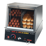 Star Star Mfg. 35SSA Hot Dog Steamer with Juice Tray