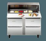 Traulsen UPD7218DD-0300-SB Compact Prep Table