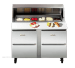 Traulsen UPD6024DD-0300 Compact Prep Table
