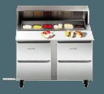 Traulsen UPD7212DD-0300-SB Compact Prep Table
